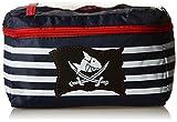 Bike Fashion Boy's Capt`n Sharky Handlebar Bag - Multi-Colour, 20 x 10 x 10 Cm