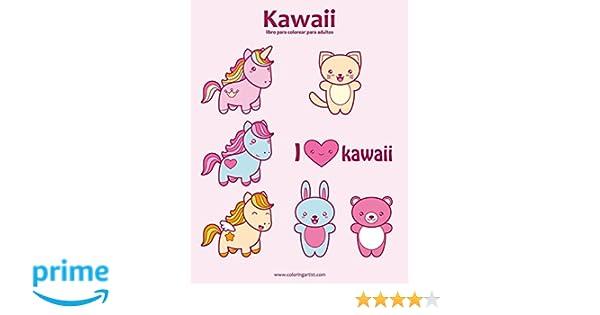 Kawaii Libro Para Colorear Para Adultos 1 Volume 1 Amazones Nick