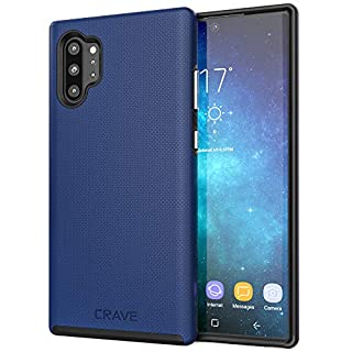 Crave Note 10+ Case, Crave Dual Guard Protection Series Case for Samsung Galaxy Note 10 Plus - Navy