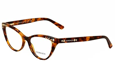 9b1d4444430 Amazon.com  Versace VE3191 Eyeglasses-5074 Havana-52mm  Shoes