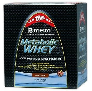 Amazon.com: MRM metabólico Proteína WHEY Suplemento ...