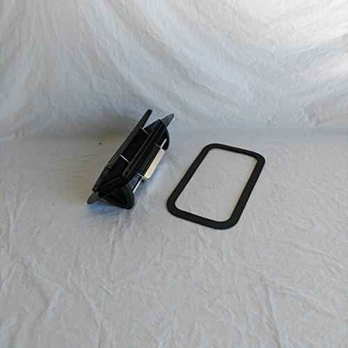 Black Aluminum Popup Vent Horse Trailer RV Air Flow Low Profile & Gasket ALPBLK