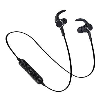 TYWZF Auriculares Bluetooth, Auriculares Inalámbricos Bluetooth 4.1 Cancelación De Ruido Auriculares Estéreo Secure Waterproof Fit