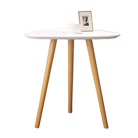 Amazon.com: Mesa de café nórdica salón comedor mesa de ...