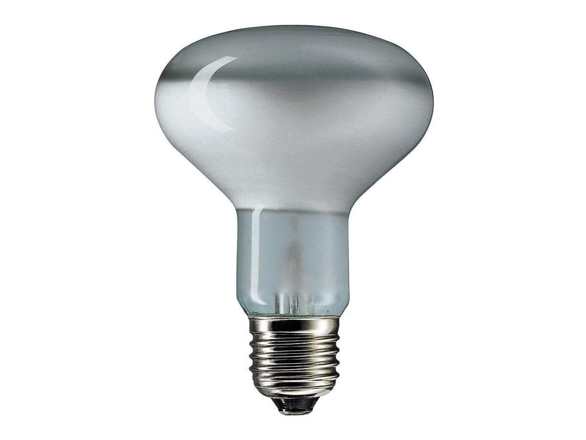 LAMPADA R80 E27 60W INCANDESCENZA SMERIGLIATA BLISTER LEUCI
