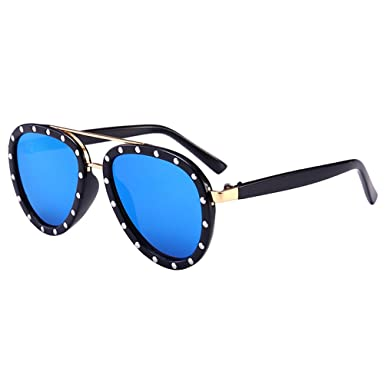 Zhuhaitf Stylish Style Metal y PC Protección UV Niños Gafas ...