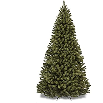 best choice products 75 premium spruce hinged artificial christmas tree w stand - Faux Christmas Trees