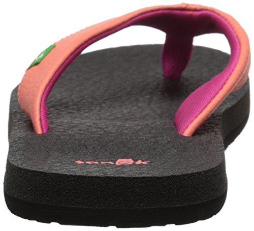 Kids Flop Flip Yoga Mat Hot fuchsia Coral Sanuk vdwHqP4H