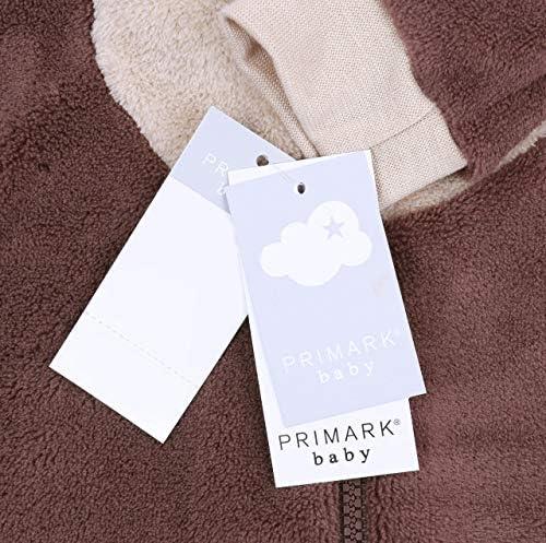 Pijama marrón de una Prenda Osito: Amazon.es: Ropa y accesorios