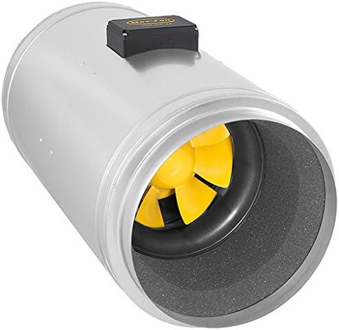 Can Fan Q-MAX 315 EC Fan Ventilador, 2850m³/HR, Plateado, 70x41x42 ...