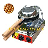 Commercial Electric Eggettes Bubble Waffle Maker Non-stick Egg Waffle Maker Egg Puff Machine Egg Cake Oven Baker (220V)