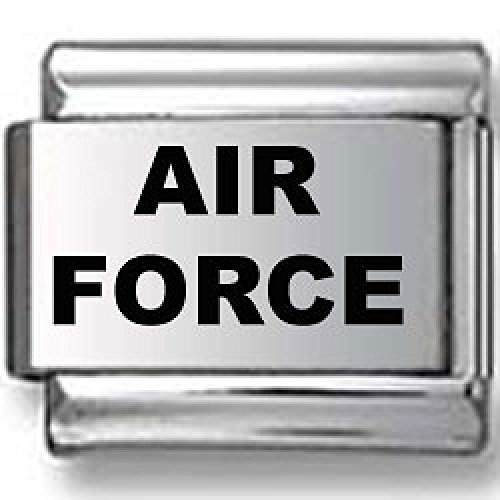 Air Force Laser Italian Charm