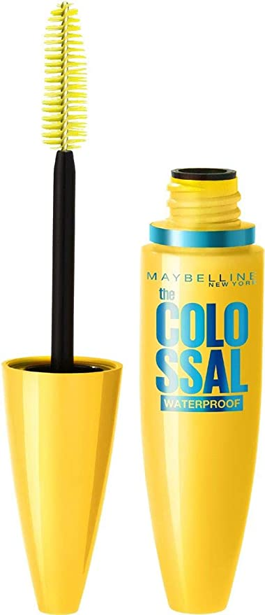 Buy Maybelline New York Volume Express Colossal Masacara, Waterproof,  Black, 10ml Online at Low Prices in India - Amazon.in