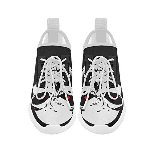 Chaussures De Course Ultralégères Dauphin Dempreinteprint Crâne Pour Les Femmes