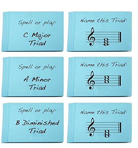 d Sets. Great Learning Triads (Minor, Major, Diminished and Augmented) ()