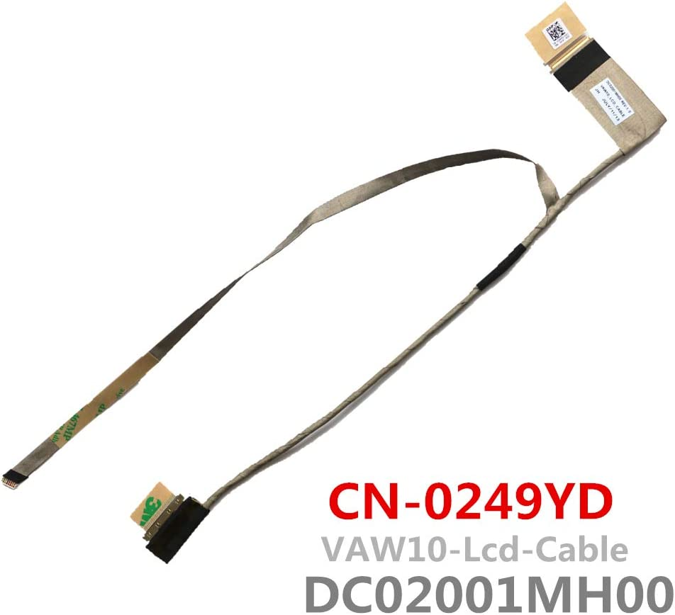Laptop Replacement LCD Lvds Cable Screen for Dell Inspiron 3721 5721 LCD Lvds Cable VAW10 DC02001MH00 CN-0249YD