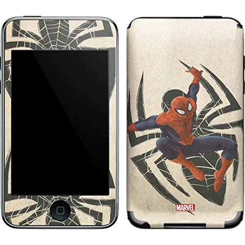 Marvel Spider-Man iPod Touch (2nd & 3rd Gen) Skin - Spider-Man Jump Vinyl Decal Skin For Your iPod Touch (2nd & 3rd Gen) ()