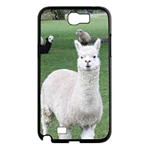 case Of Lama Pacos Customized Bumper Plastic Hard Case For Samsung Galaxy Note 2 N7100