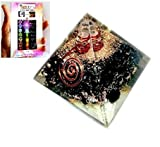 Black Tourmaline Chakra Orgone Pyramid Free Booklet Jet International Crystal Therapy