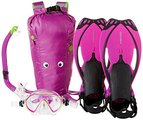 Mares Head by Sea Pals Character Kids Mask Fin Snorkel Set