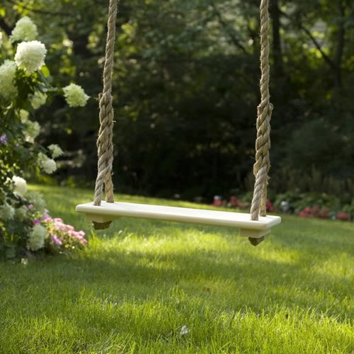 Child Tree Swing (18″ X 7 .5″) – White Review