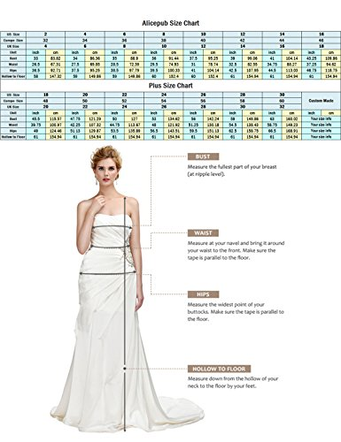 9ded51a323f Alicepub Bridesmaid Maxi Dresses Long for Women Formal Evening Party Prom  Gown Halter