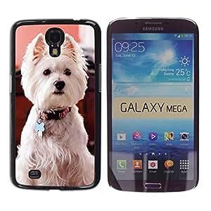 YiPhone /// Prima de resorte delgada de la cubierta del caso de Shell Armor - West Highland White Terrier Dog Canine - Samsung Galaxy Mega 6.3 I9200 SGH-i527