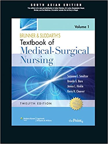 Medical surgical nursing south asian edition brunner suddarth medical surgical nursing south asian edition brunner suddarth 9788184734225 amazon books fandeluxe Choice Image