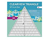 12in Clearview Triangle Ruler