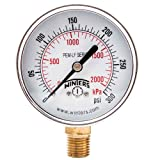 Winters PEM217LF PEM-LF Series Pressure Gauge, 2.5