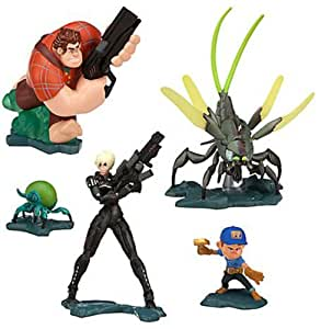 Disney Wreck It Ralph Hero's Duty Figure Figurine Set