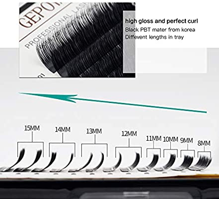 Amazon com : Eyelash Extension Supplier Premium Silk Lashes