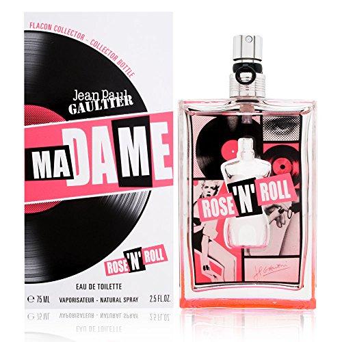 Madame by Jean Paul Gaultier for Women 2.5 oz Eau de Toilette Spray Rose N Roll Collector Bottle