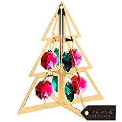 Gold Plated Christmas Tree Hanging Ornament