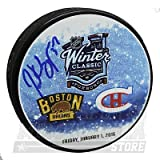 Patrice Bergeron Boston Bruins Signed Autographed 2016 Winter Classic Puck