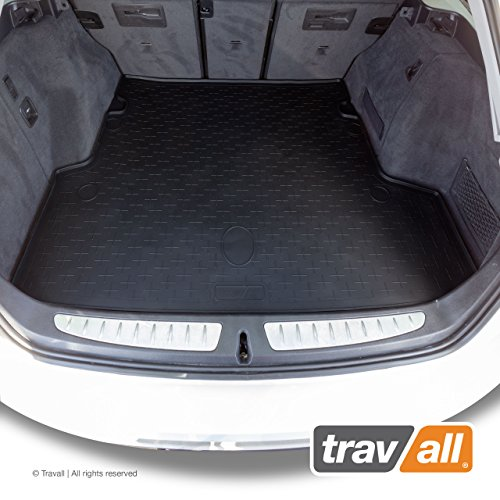 Travall Liner for BMW 3 Series Sports Wagon (2012-Current) TBM1099 - All-Weather Black Rubber Trunk Mat Liner (Liner Wagon Trunk)