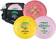 Discraft Jawbreaker Disc Golf Starter 3 Disc Pack - Assorted Colors + Free Bag PIN!