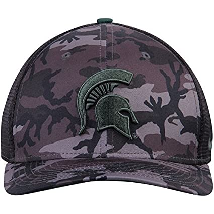 buy online 1e410 84fcd Amazon.com   Nike Michigan State Spartans Anthracite Meshback Camo   Sports    Outdoors