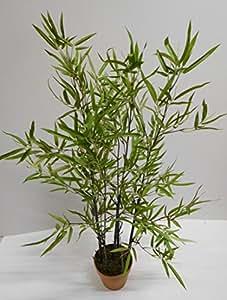 Bambú Hierba Planta Artificial Árbol Decorativo Decoración Planta H 100cm 187147getopft F75