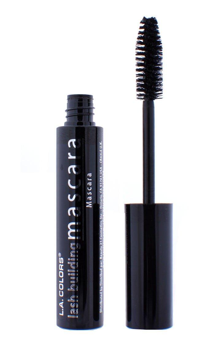 fe6ba0f8a9a Amazon.com : LA Colors Lash Building Extreme Volumizing Mascara 0.25 oz  Black : Beauty