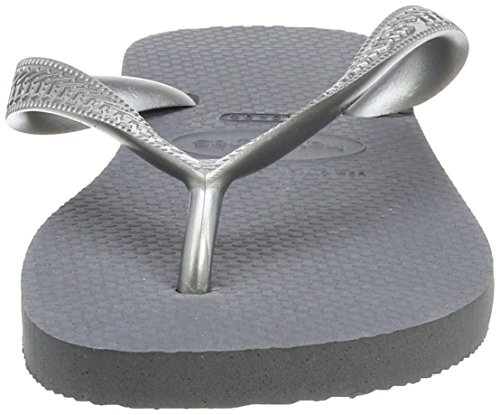 Havaianas Tongs Femme Top Tiras gris /acier