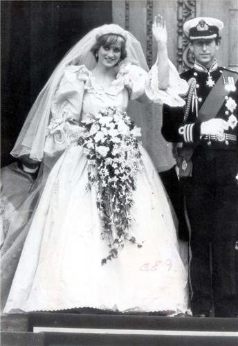 Amazon Com Princess Diana Wedding Day Glossy Poster Picture Photo