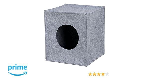 Trixie Cueva Suave para Estantería Anton, 33 x 33 x 37 cm, Gris: Amazon.es: Productos para mascotas