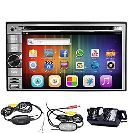Amazon wireless camerapupug 62 inch pure android 42 wireless camerapupug 62 inch pure android 42 universal double din in dash car dvd asfbconference2016 Image collections