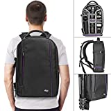 DSLR Camera and Mirrorless Backpack Bag by Altura Photo for Camera and Lens