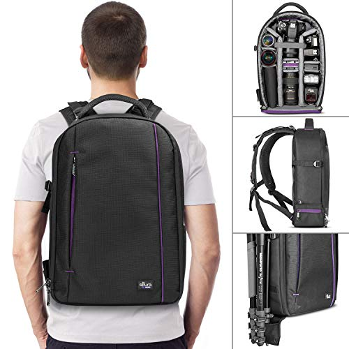 (DSLR Camera and Mirrorless Backpack Bag by Altura Photo for Camera and Lens (The Wanderer Series))