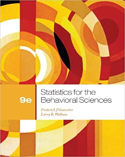 Statistics for the behavioral sciences 009 frederick j gravetter statistics for the behavioral sciences 009 frederick j gravetter larry b wallnau amazon fandeluxe Image collections