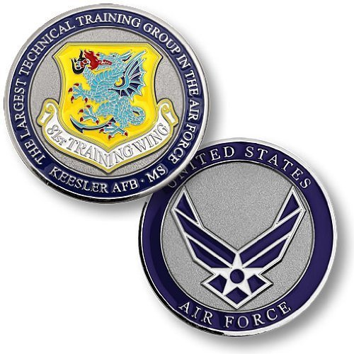 Usaf Base (81st Training Wing, Keesler Air Force Base, MS Challenge Coin)