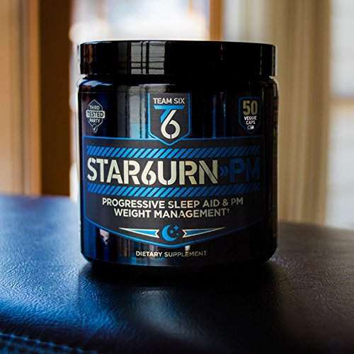 T6-STAR6URN-PM--Fat-Burner-and-Sleep-Aid-for-Muscle-Preserving-Weight-Loss-and-Stress-Relief-Green-Coffee-Bean-and-Garcinia-Cambogia-Extract-50-veggie-caps