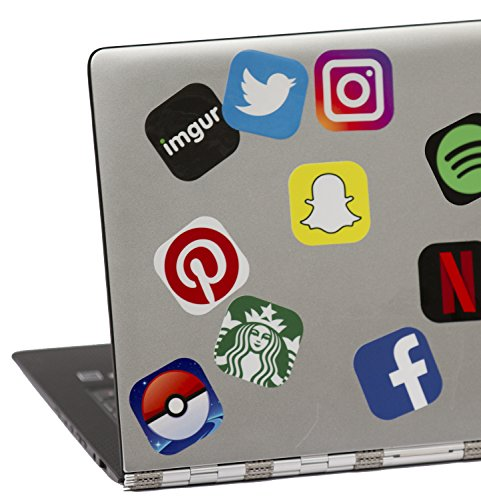 App Life  App Stickers Sheet With Bold Colorful Iconic Laptop Stickers  For All Your Gear
